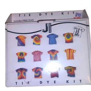 TIE DYE KIT 4 COLORS AND CD